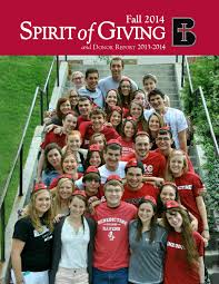 Sprit of Giving Fall 2014 by Benedictine College - issuu