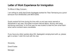 Certificate Of Employment Sample Canada New Work Experience Letter