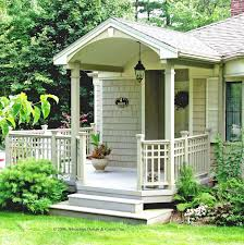 Interesting Front Porch Ideas For Small Houses Yard Lanscaping