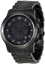 17 best images about mk michael kors outlet michael kors blacked out runway chronograph men s watch runway michael kors watches