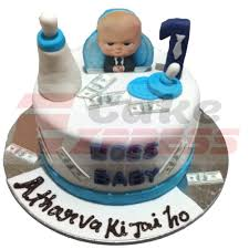 Delhi Ncr Special Boss Baby Themed Fondant Cake Delivery In Delhi