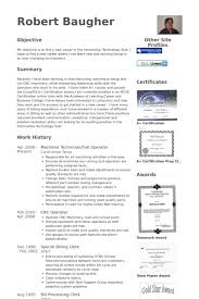 Machinist Resume Samples Visualcv Resume Samples Database