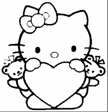 Coloring Pages Coloring Hello Kitty Drawingable Free For