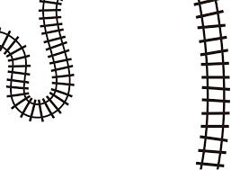 Piaproピアプロイラスト背景素材224線路2