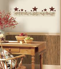 primitive wall art decals