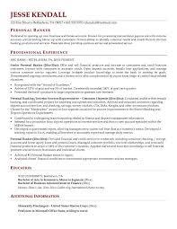 ... Cool Design Ideas Banker Resume 4 Personal Banker Resume Sample ...