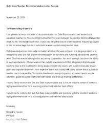 Recommendation Letter For Teaching Position Teacher Recommendation Letter Template Caseyroberts Co