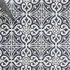 Black And White Pattern Tile Cool Why Do Patterned Tiles Work So Well In The Bathroom Victorian