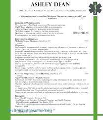 Clinical Pharmacist Curriculum Vitae Cv Template Pharmacy
