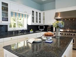 White Kitchen With Granite Countertops White Kitchen Cabinets With Gray Granite Countertops
