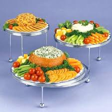 Party Food Display Stands Custom Tiered Appetizer Stand Appetizing Display Appetizers Use The Cakes N