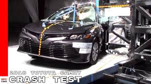 2018 Toyota Camry Crash Test & Rating - 5 Stars - YouTube