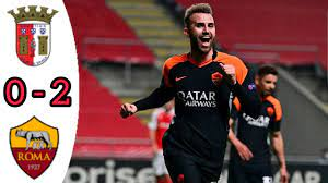 SC BRAGA VS AS ROMA, 0 - 2/ ALL GOALS AND EXTENDED HIGHLIGHTS/ UEFA EUROPA  LEAGUE - YouTube