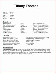 Modeling Resume Template Beginners Modeling Resume Template Awesome Cv Resume Sample Filetype Promo 14