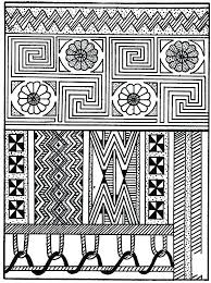 Navajo designs Circle Coloring Pages For Adults Easy Native Designs To Color Best Grown Up Inspired Flowers Full Size Great Notions Coloring Navajo Designs Coloring Pages