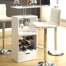 glass bar table interior home bar table modern retro leisure cafes against the wall high with glass bar table