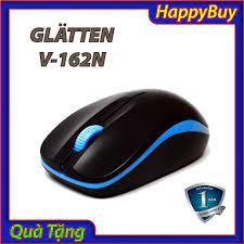 Mã SRJULY1619 giảm 15K đơn 50K] Chuột Không Dây Văn phòng Cao cấp Giá rẻ Độ  nhạy cao Glatten V-162N (Nhiều màu)