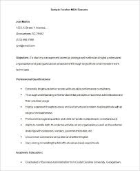 Biodata Format For Job Fresher Doc Download