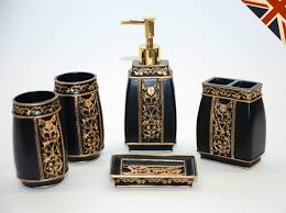 black and gold bathroom accessories. Medium Size Of Black Gold Set Bathroom Accessories Soap Cool Features 2017 And I