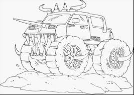 Small Picture How Monster Jam Colouring Pages To Draw Monster Truck Bigfoot Kids
