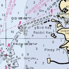 Map And Nautical Charts Of Tarpon Springs Anclote River Fl