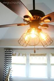 add light to ceiling fan cage light ceiling fan crazy wonderful intended for add light to add light to ceiling fan