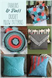 Crochet Pillow Patterns Awesome Retro Style Crochet Pillow Free Pattern