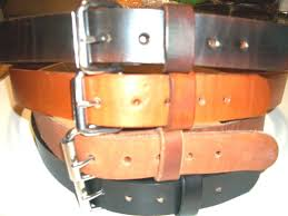 heavy duty s s buckle real leather work belt tool holster hand made 1 1 2 w