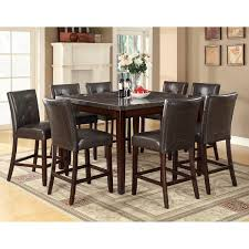 Square Dining Room Table With 8 Chairs Dining Room Square Kitchen Table With Bench Seats And Wooden