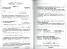 Examples Of 2 Page Resumes 100 Page Resume Template Examples Best Two Format Free 62