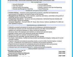 Chief Auditor Sample Resume Collections Account Manager Sample