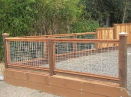 wire fence ideas. Wood And Hog Wire Fence Ideas
