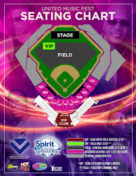 Spirit Communications Park Seating Chart Nelly To Headline United Music Fest At Spirit Communications