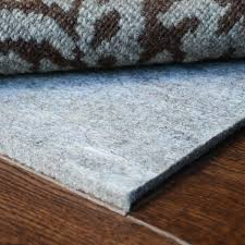 eco fiber touch thick felt rectangle rug pad best rug pads within carpet pad thickness some