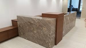 office countertops. High Point, NC Custom Countertops Granite Mitered Office Reception Desk By  Carolina Surfaces Office Countertops N