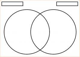 Printable Venn Diagram Template Free Printable Venn Diagram Pdf 3 Circles Template Blank