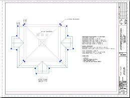 Back hip roof design plans