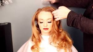 1940s hair and makeup tutorial old hollywood veronica lake look you