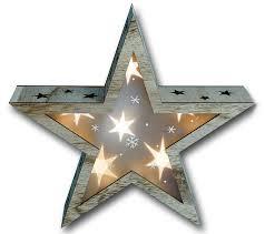 Bambelaa Led Weihnachtsstern Beleuchtung Fensterbeleuchtung 6 Warmweiße Leds 3d Effekt Hologram Batteriebetrieben
