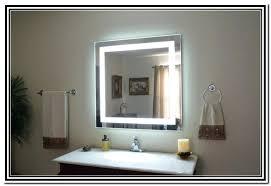 Illuminated wall mirrors for bathroom Restroom Illuminated Wall Mirrors For Bathroom Lighted Wall Mirror For Bathroom Creative Home Decoration Design Wall Aomuarangdongcom Illuminated Wall Mirrors For Bathroom Lighted Wall Mirror For