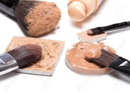 basic makeup s to create beautiful skin tone and plexion corrector foundation powder