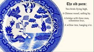 Blue Willow Pattern Awesome Design Inspiration