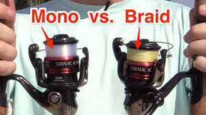 Braid Vs Mono Diameter Chart Does Braid Cast Farther Than Mono Find Out Here Casting Contest