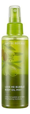 Купить <b>спрей</b>-<b>масло для тела Love</b> Me Bubble Body Oil Mist-Olive ...