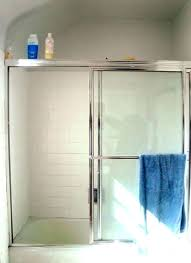 cleaning shower door tracks how to remove a door frame replace shower frame remove changing shower