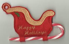 Candy Cane Applique Design Free Embroidery Designs Cute Embroidery Designs