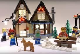 Lego Winter Village Lights Review Led Light For Lego 10222 Winter Village Post Office