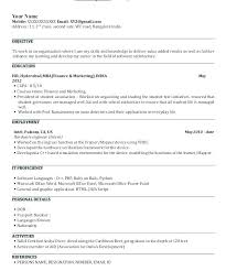Resume Format For Hr Fresher Resume Samples For Freshers Resume ...