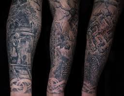 славянские татуировки на плече мужские фото