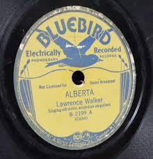 "Early Cajun Music: ""Alberta"" - Walker Brothers"